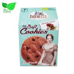 Soft Cookies με Κουβερτούρα & Κακάο 4X40g - Βιολογικά