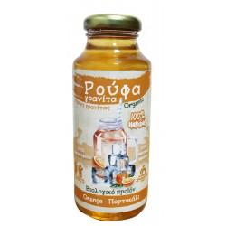 Σιρόπι Για Γρανίτα Πορτοκάλι 250ml - Βιολογικό