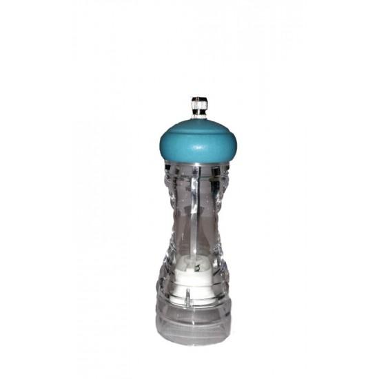 Ακρυλικός με Γαλάζιο Ξύλινο Καπάκι 14cm