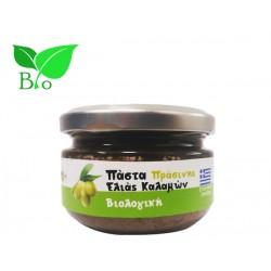 Πάστα Πράσινης Ελιάς Καλαμών 100g - Βιολογική