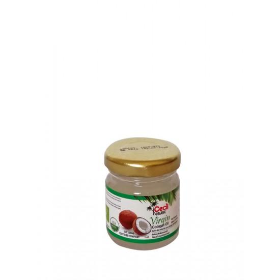 Coconut Virgin Oil σε γυάλινο βάζο, Cecil ΠΡΟΪΟΝΤΑ ΚΑΡΥΔΑΣ