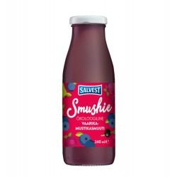 Smoothie με Blueberry & Raspberry 240ml - Βιολογικό