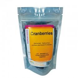 Cranberry με Ακατέργαστη Ζάχαρη (Αμερικής)