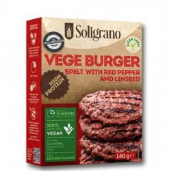Burger vegan Πάπρικα και λιναρόσπορο 140g