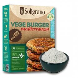 Burger vegan Μεσογειακό