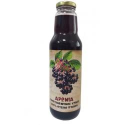 Συμπυκνωμένος Χυμός Aronia - Αρώνια 750ml (Οσμωτικός) Χ/Ζ