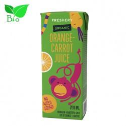 Χυμός Παιδικός Freshery με Πορτοκάλι & Καρότο 200ml - Βιολογικός